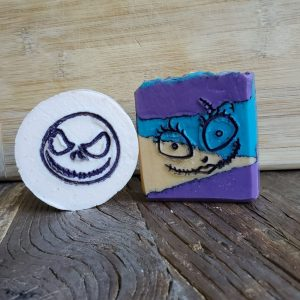 Made in Nevada Jack & Sally Halloween Soap