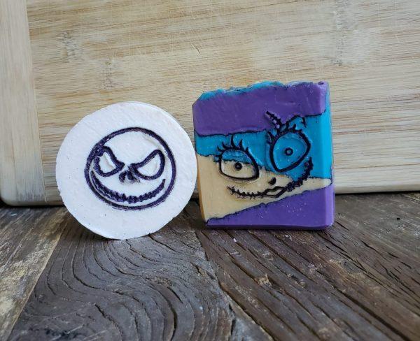 Made in Nevada Jack & Sally Halloween Soap