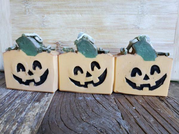 Made in Nevada Pumpkins!! Soap