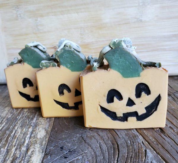 Pumpkins!! Soap on Made in Nevada, Sea Salt Caramel