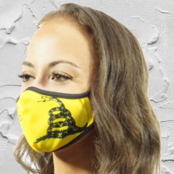 Made in Nevada Don't Tread On Me Face Mask
