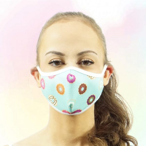 Made in Nevada Donuts Face Mask