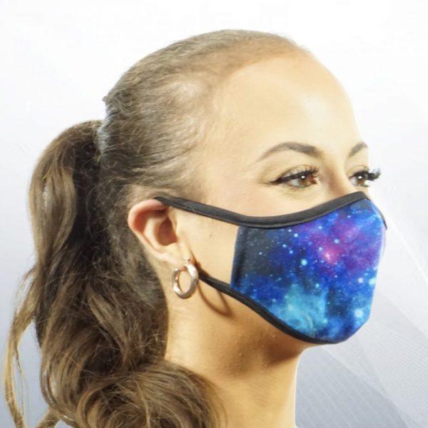 Made in Nevada Galaxy Face Mask