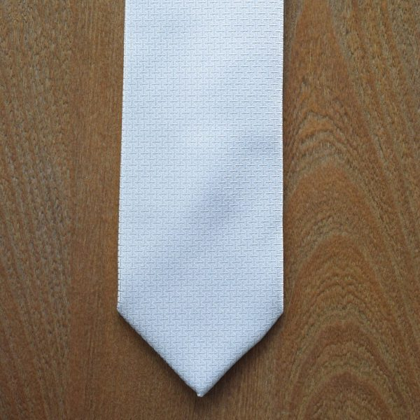 Made in Nevada Grey necktie with lines