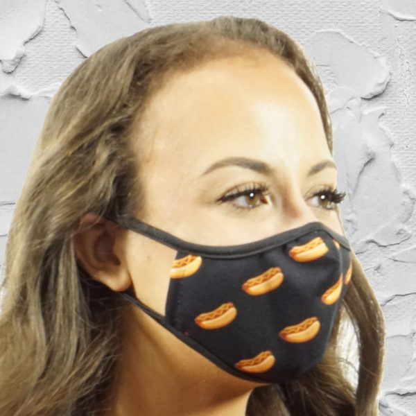 Made in Nevada Hot Dogs Face Mask