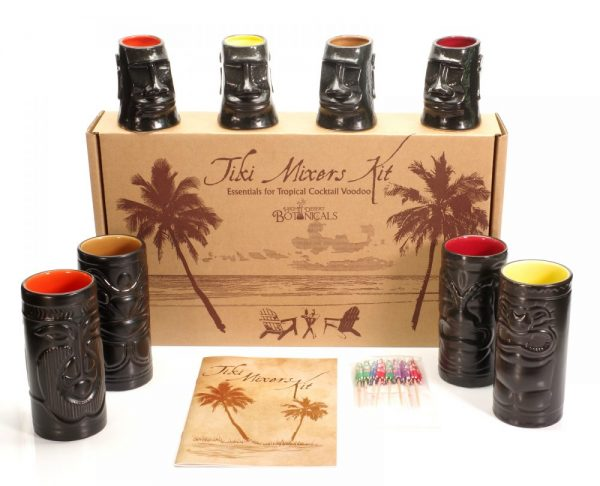 Made in Nevada Ultimate Tiki Mixers Kit – With 8 Tiki Mugs