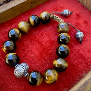 Tigers Eye Bracelet on Shop Made in Nevada