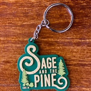 Made in Nevada Sage & Pine Keychain