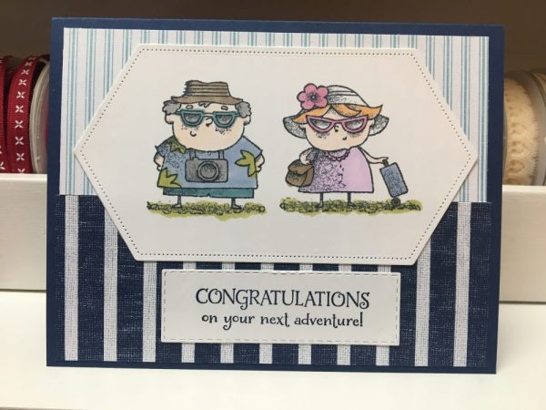 Congratulations on your Next Adventure - Retirement Card on Shop Made in Nevada