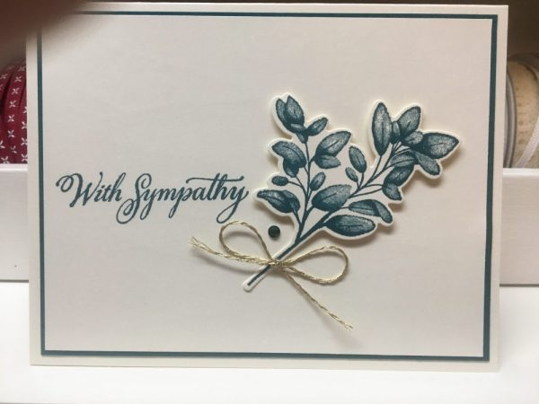 Made in Nevada Sympathy Cards