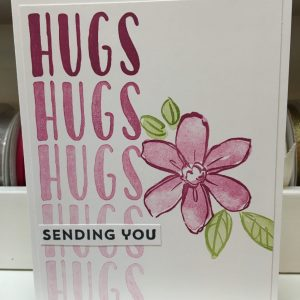 Made in Nevada Sending You Hugs – Card