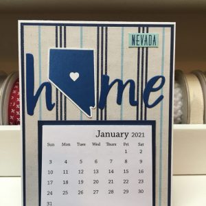 Made in Nevada 2021 Calendar Card – Various Designs