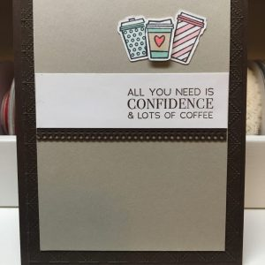Made in Nevada Coffee Themed Cards and Gift Card Holders
