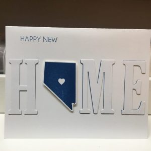 Made in Nevada Happy New Home (Nevada) Card