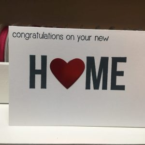 Made in Nevada Congratulations on your New Home Card