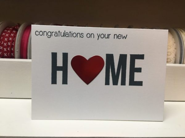 Congratulations on your New Home Card on Shop Made in Nevada