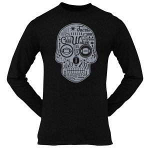 Made in Nevada LAS Football Sugar Skull T-shirt