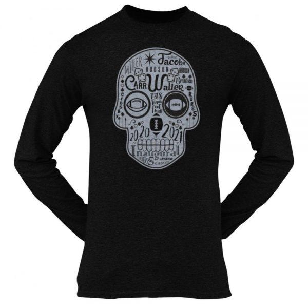Made in Nevada LAS Football Sugar Skull T-shirt