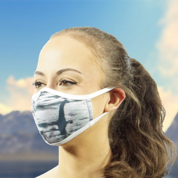 Made in Nevada Loch Ness Face Mask