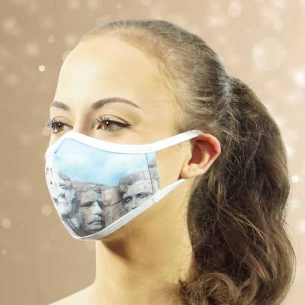 Made in Nevada Mt Rushmore Face Mask