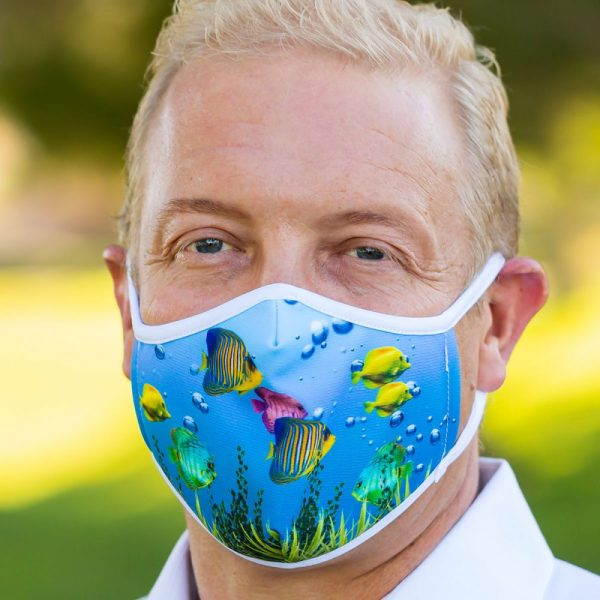 Made in Nevada Fish Bowl Face Mask