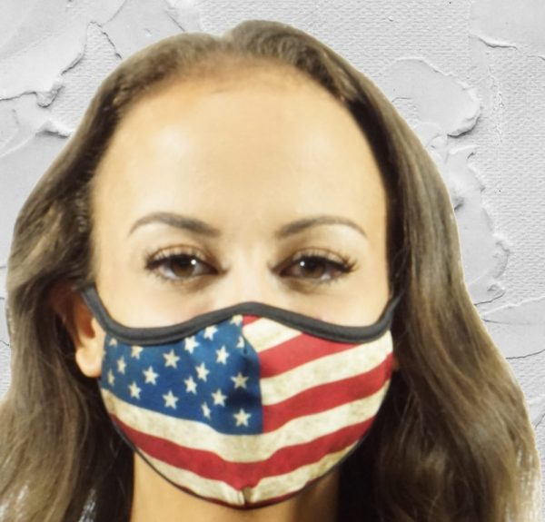 Made in Nevada Old Glory Face Mask