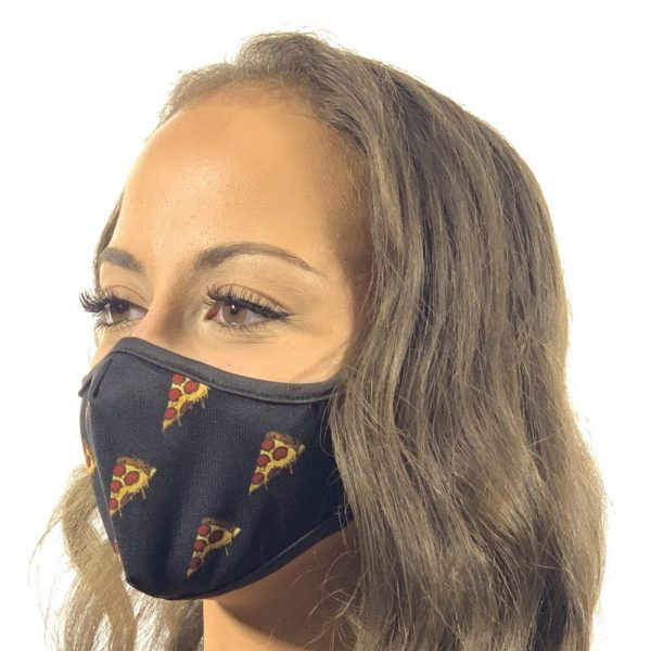 Made in Nevada Pizza Face Mask