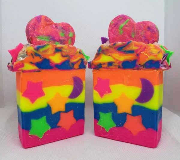 Neon Dream Soap on Made in Nevada