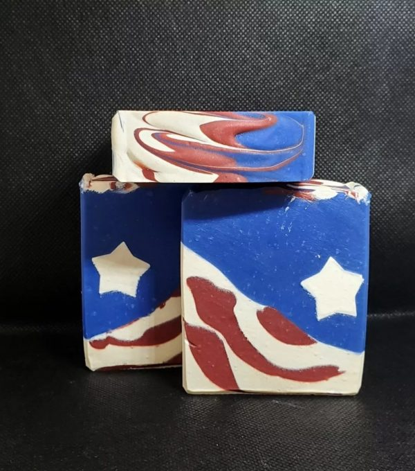 Independence Day Soap on Made in Nevada