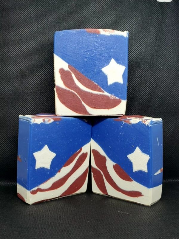 Made in Nevada Independence Day Soap