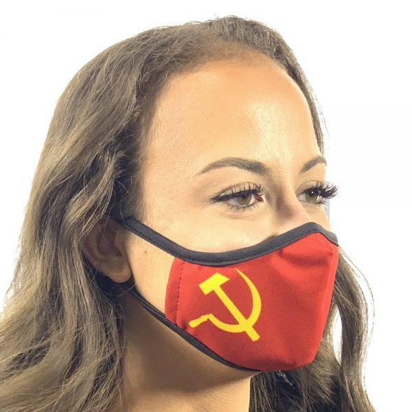 Made in Nevada Soviet Face Mask