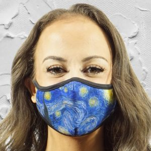 Made in Nevada Starry Night Face Mask