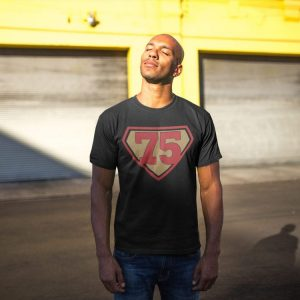 Made in Nevada Super 75 Black T-shirt