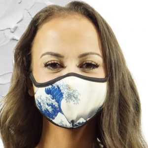 Made in Nevada The Great Wave Face Mask
