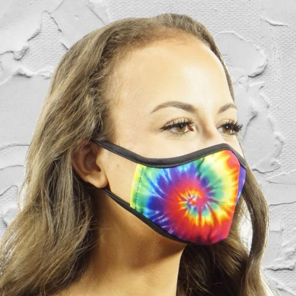 Made in Nevada Tie Dye Face Mask