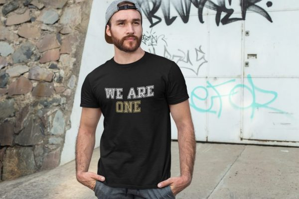 Made in Nevada We Are One Black T-shirt