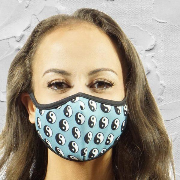 Made in Nevada Yin Yang Face Mask