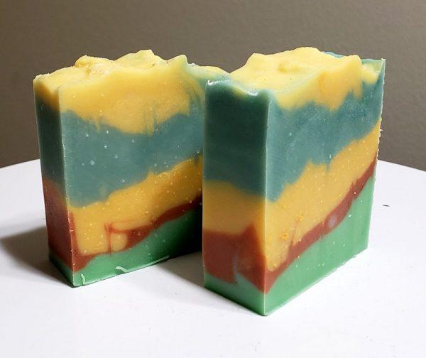 Lemon Lime Soap on Made in Nevada