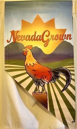 Made in Nevada NevadaGrown Vinyl Banner