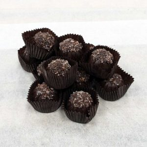 Made in Nevada Dark Chocolate Sugar Free Sea Salt Caramels