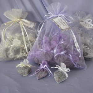 Lavender Wedding Exit Toss heart-shaped sachets, Nevada Grown, Shop Made in Nevada