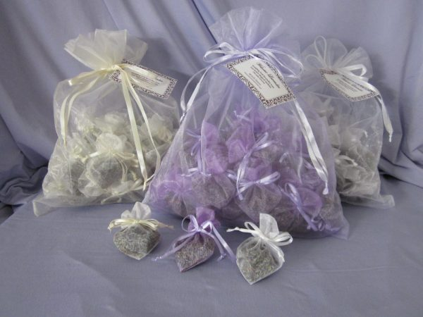 Made in Nevada Lavender Wedding Exit Toss heart-shaped sachets