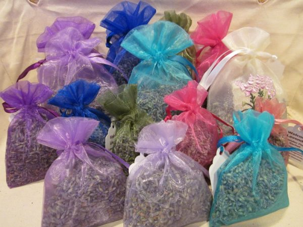 Lavender Sachet Bag on Shop Made in Nevada