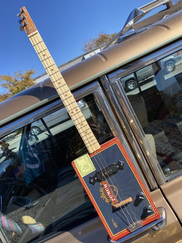 Made in Nevada Cigar Box Guitar