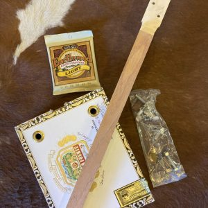 Made in Nevada DIY Cigar Box Guitar!