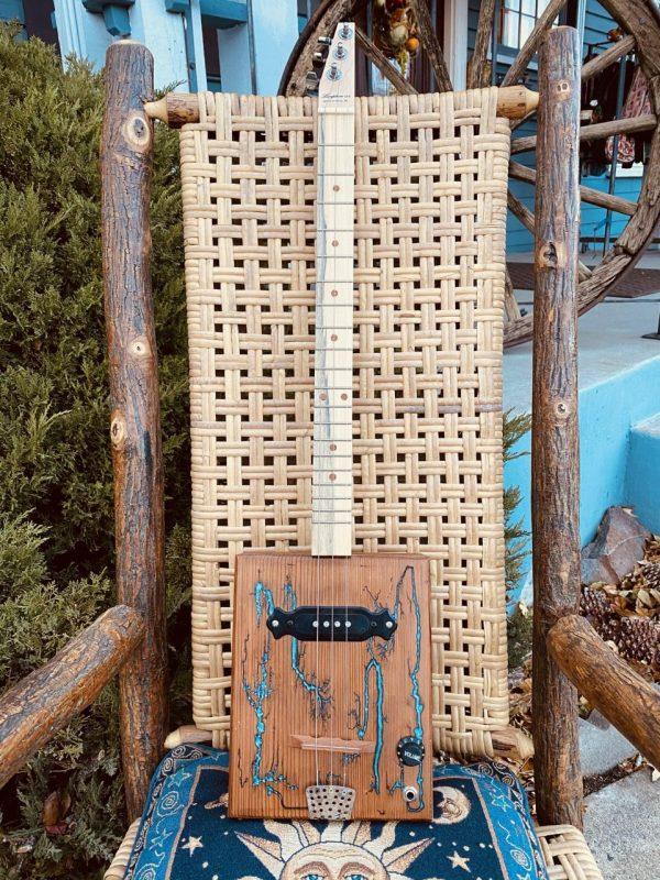 Made in Nevada Cigar Box Guitar!