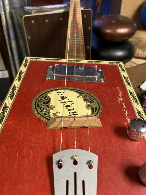 Made in Nevada Brick House Cigar Box Guitar