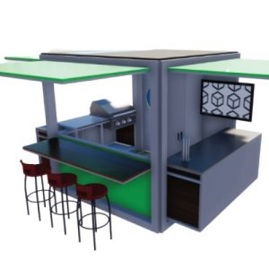 Made in Nevada TailKrate Customizable Towable Kitchen