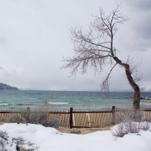 "Made in Nevada ""At Storm's Gate, Lake Tahoe, NV"" – Color Photographic Print"