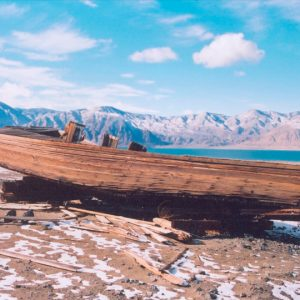 "Made in Nevada ""Carp Boat, Walker Lake, NV"" – Color Photographic Print"